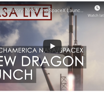 NASA/SPACEX Crew Dragon Launch